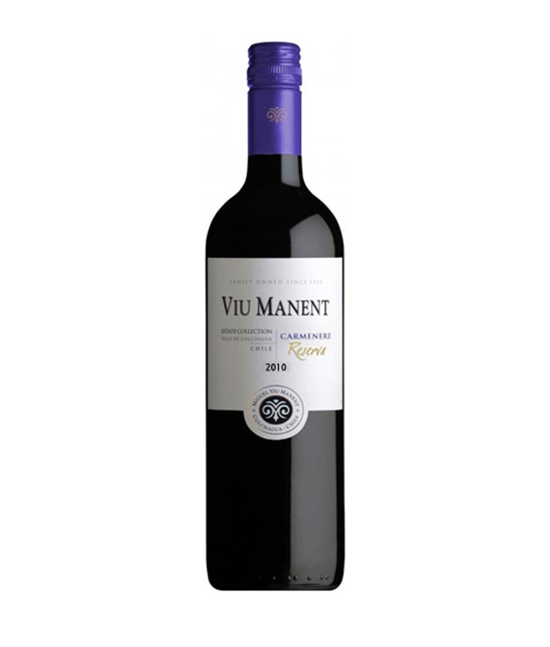 Conheça o Vinho Chileno Carménère Viu Manent