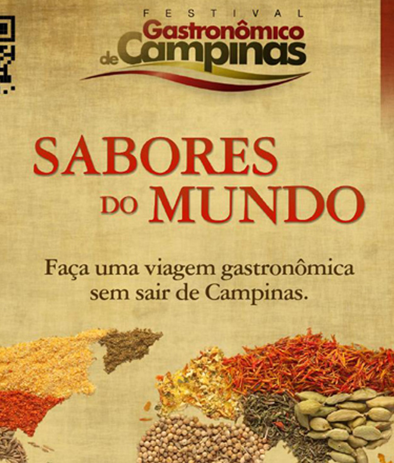 Sabores do Mundo: Festival Gastronômico de Campinas vai até 11 de Agosto!
