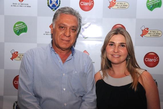 Prefeito Gabriel Ferrato e Secretária de Turismo Rose Massarutto. Foto Leandro Barbosa/Senhora Mesa