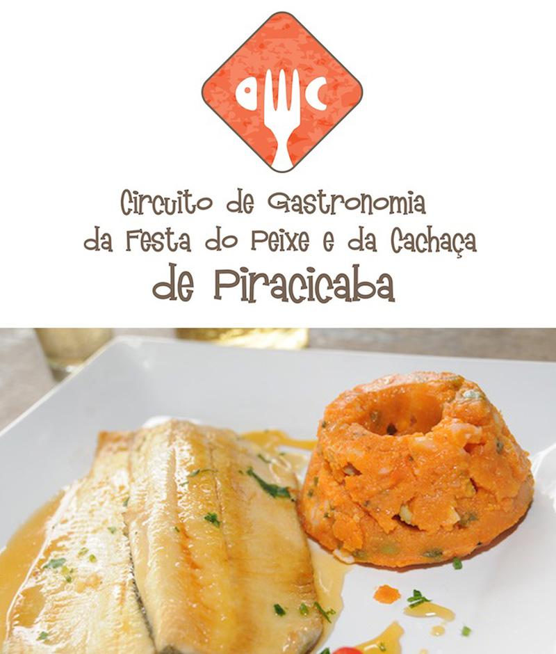 Confira o Guia de Restaurantes do 1º Circuito de Gastronomia da Festa do Peixe e da Cachaça de Piracicaba!