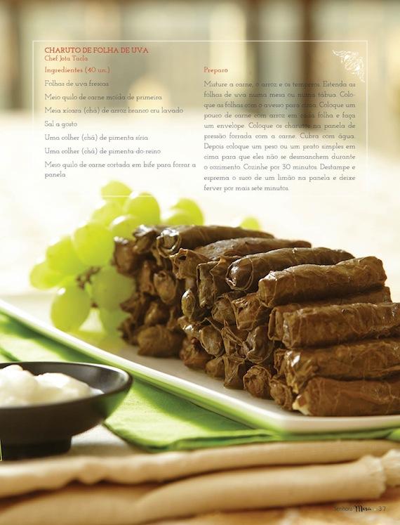 Revista Senhora Mesa e Ulishop fazem Jantar Árabe na Casa Cor Piracicaba! Confira Receita do Charuto de Uva e da Kafta!