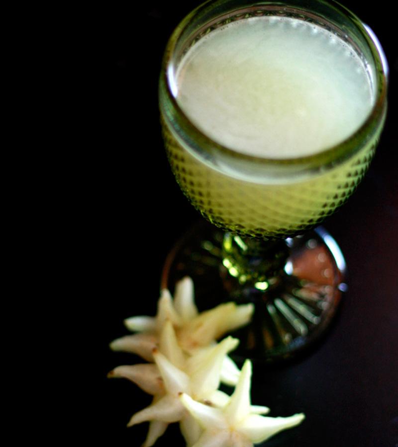 Suco de Carambola com Limão