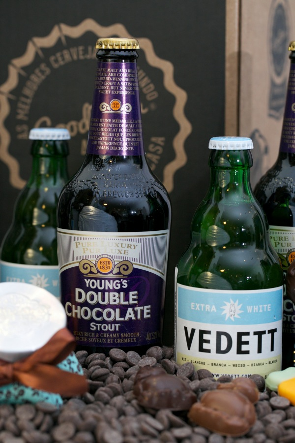 Se a witbier belga Vedett vai bem com o bacalhau, a inglesa Young's Double Chocolate Stout é para ser bebida como um Ovo de Páscoa