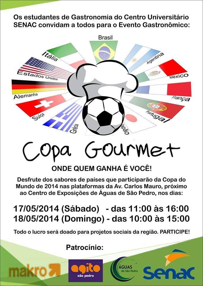 Senac Realiza Copa Gourmet Sábado em Águas de São Pedro