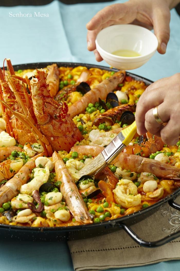 Paella Marinera para Aquecer