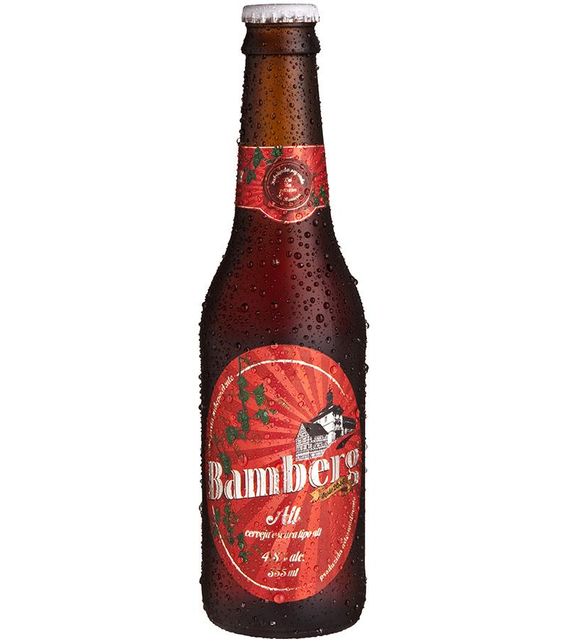 Para ele: Bamberg Alt. é uma cerveja artesanal premiada internacionalmente, feita no Brasil segundo o estilo alemão Alt bier, original de Dusseldorf.Apresenta aromas e sabores complexos, indo muito bem com carne vermelha, caça e comida bem condimentada, gordurosa ou apimentada. O teor alcoólico é de 5%. R$ 17.
