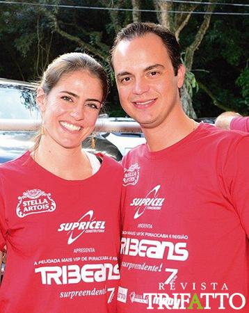 Carolina e Fernando Jaber
