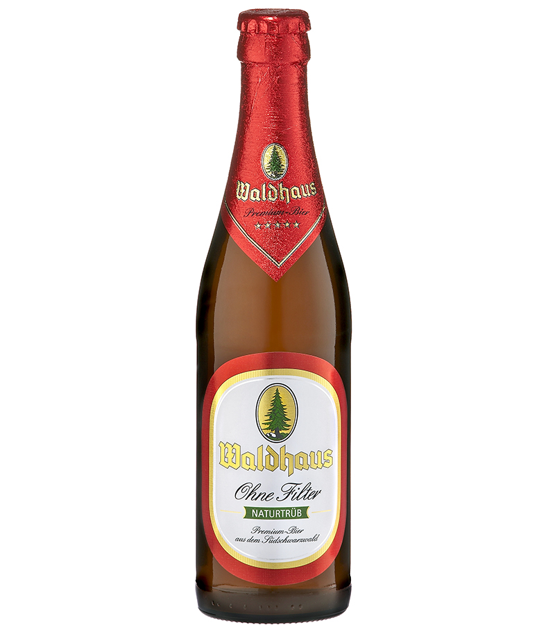 Para ele: Waldhaus Ohne Filter Naturtrüb. Trata-se de uma cerveja não filtrada do estilo pilsen, em que o sabor e aroma ficam mais evidentes. É encorpada, tem amargor médio e a espuma é de boa formação. O teor alcoólico é de 5,6%. R$ 17.