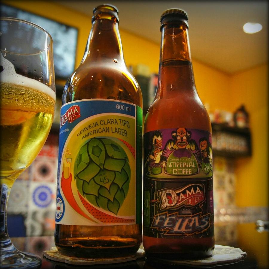 Cervejaria Dama Bier Lança Dama 2014 e Fellas Imperial Coffee IPA