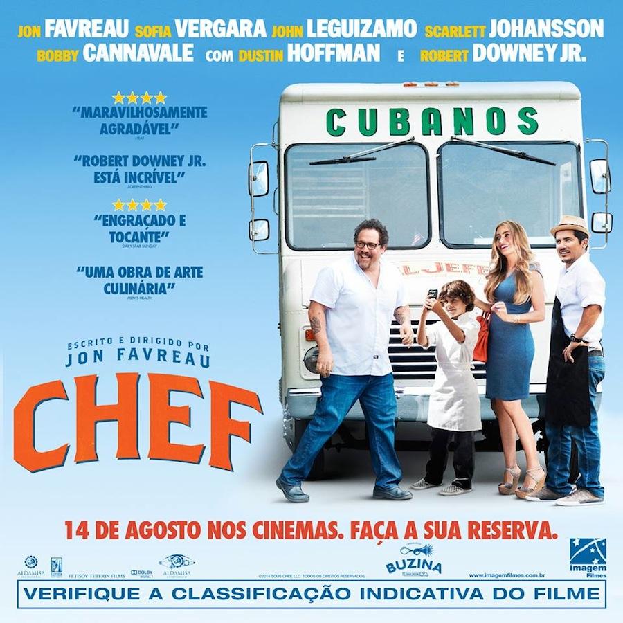 Filme Chef, uma comédia gourmet imperdível