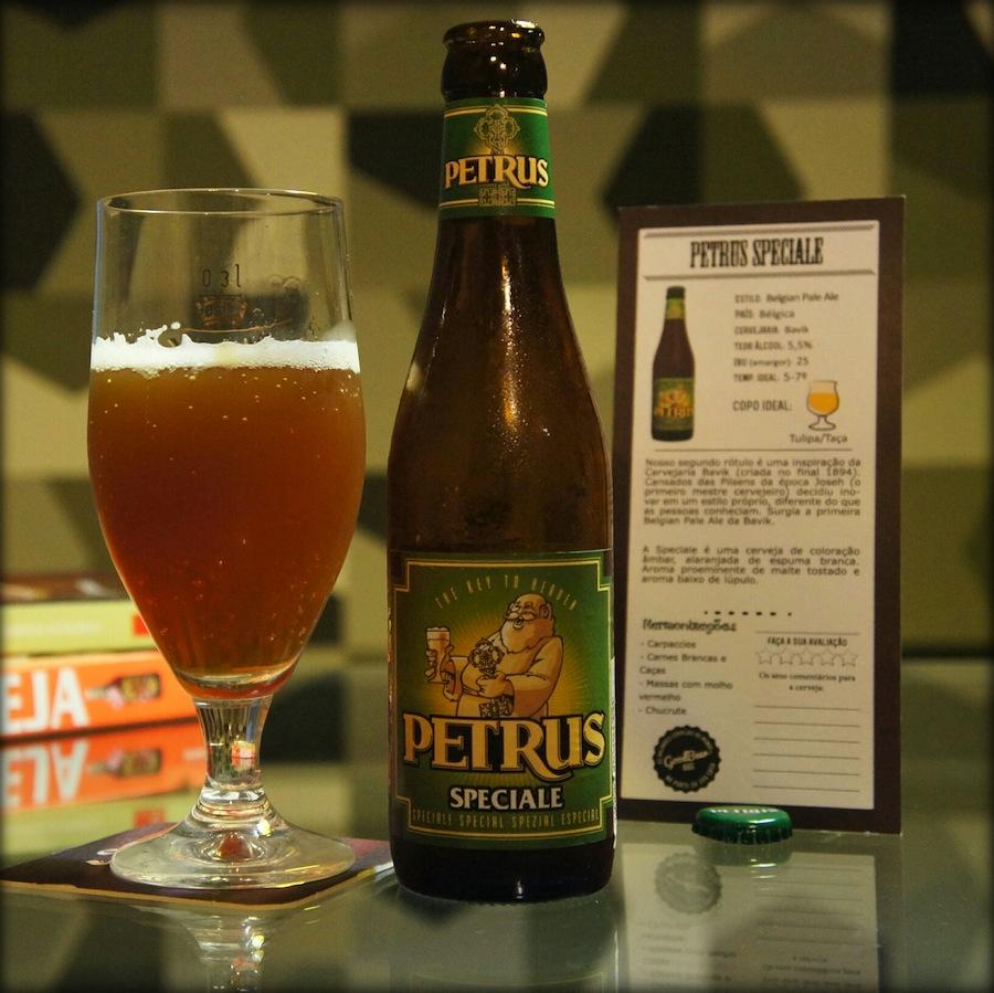 Cervejas Petrus tem rótulos especiais do estilo belga