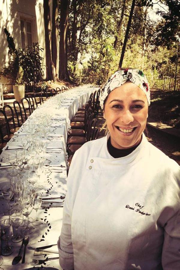 Cozinhando às cegas com a chef Dani Padalino