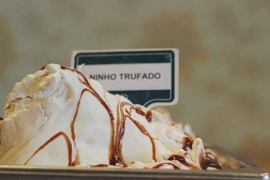 Gôla Gelato e Caffè usa ingredientes 100% italianos e nenhum sabor contém gordura vegetal hidronenada.