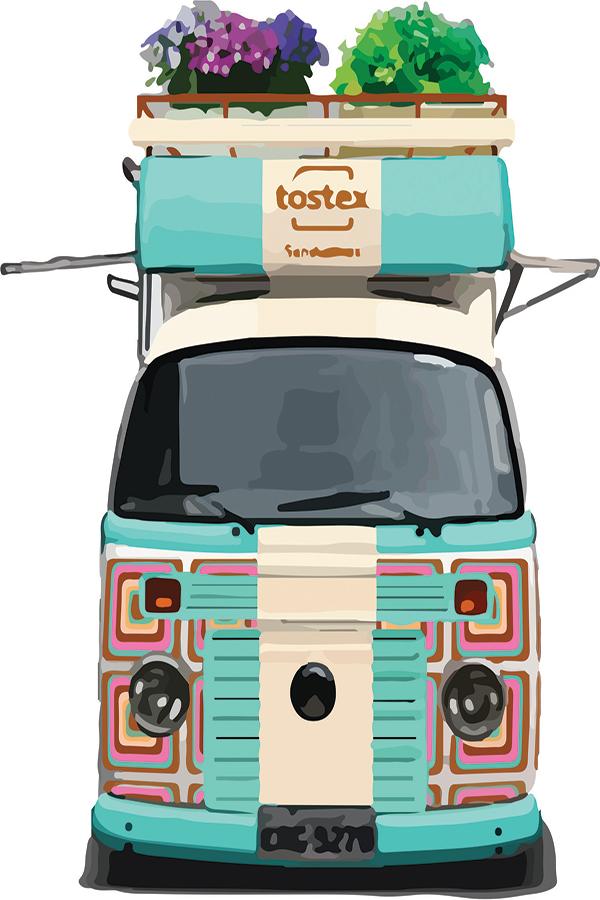 Tostex lança food truck nas ruas de São Paulo