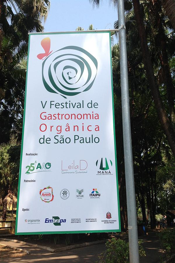 Festival de Gastronomia Orgânica de São Paulo realizou sua 5° edição no último final de semana