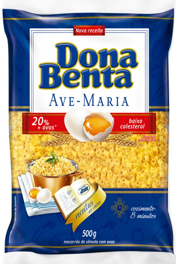 Tradicional macarrão Dona Benta ganha 20% mais ovos em sua receita