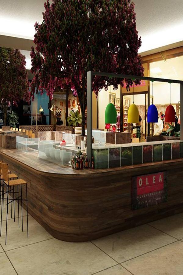 Restaurante Olea inaugura quiosque charmoso no shopping Cidade Jardim em São Paulo