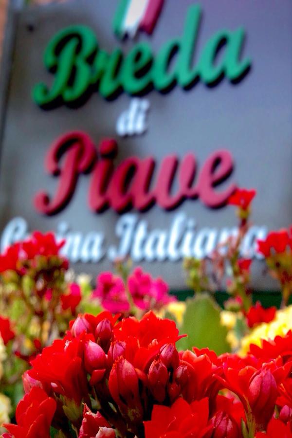 Cantina Breda di Piave de Americana e seu Amor à Culinária Italiana