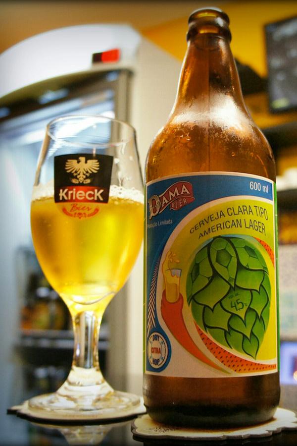Dama 2014 American Lager é Medalha de Ouro no Mondial de La Bière