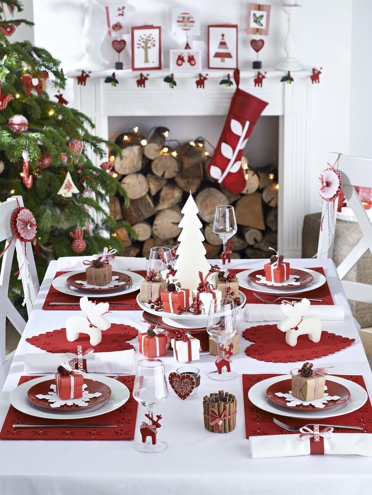 Decore a Mesa de Natal com ideias Criativas 4