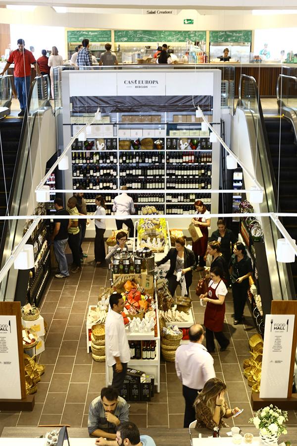 Shopping Cidade Jardim em São Paulo inaugura um Food Hall inédito