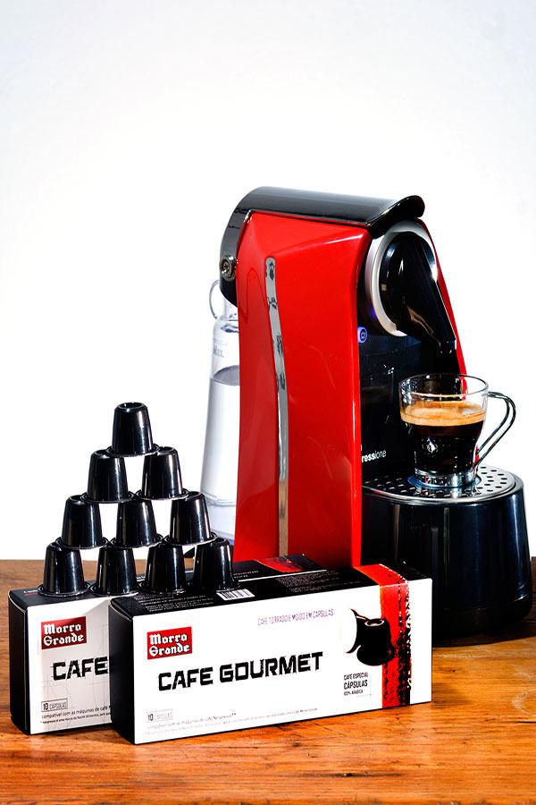 Café Morro Grande lança cápsulas para café expresso gourmet
