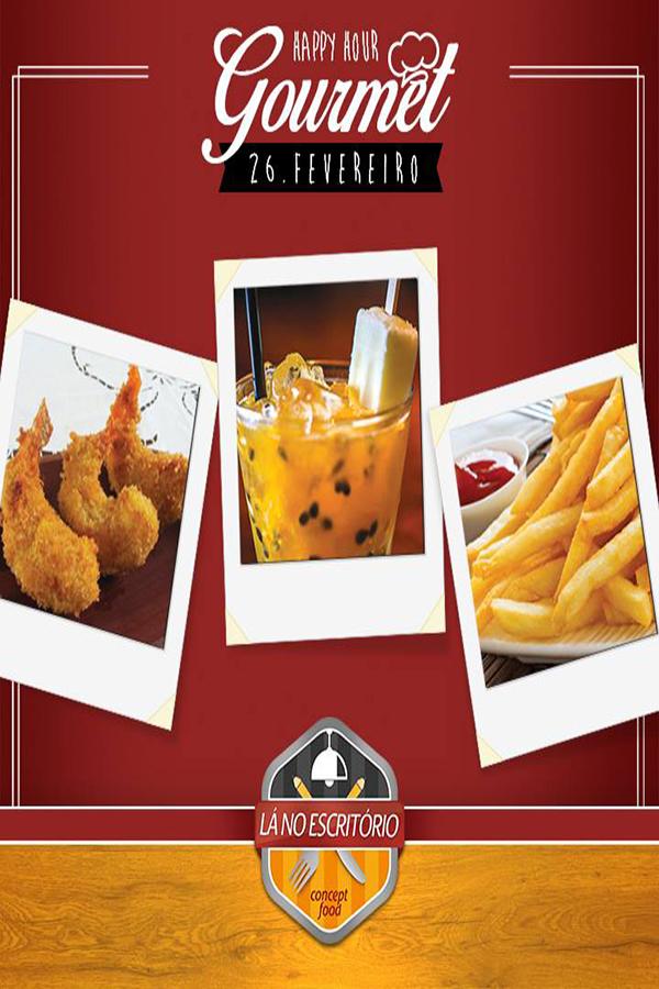 2° edição de Happy Hour Gourmet no Lá no Escritório em Campinas