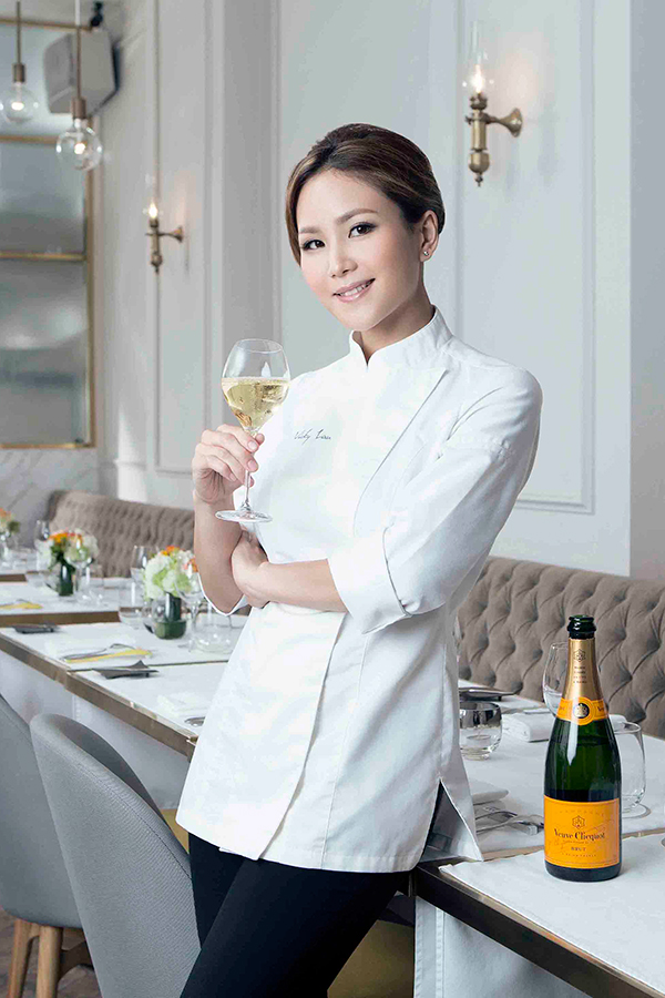Vicky Lau é nomeada a vencedora do prêmio Veuve Clicquot Best Female Chef Asia 2015