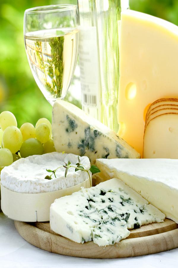 Harmonização de queijos da CNIEL e vinhos no verão