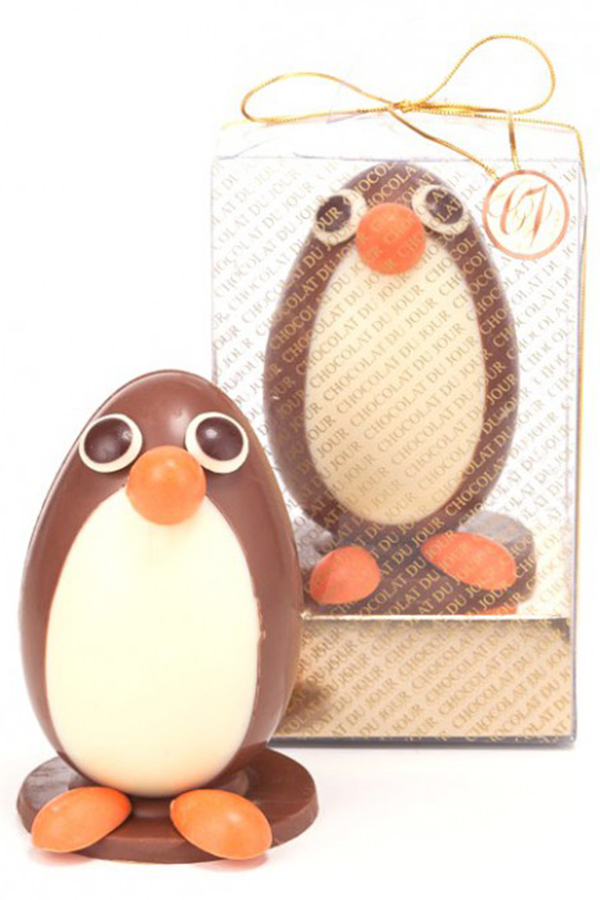 A Páscoa dos Pinguins da Chocolat Du Jour SP