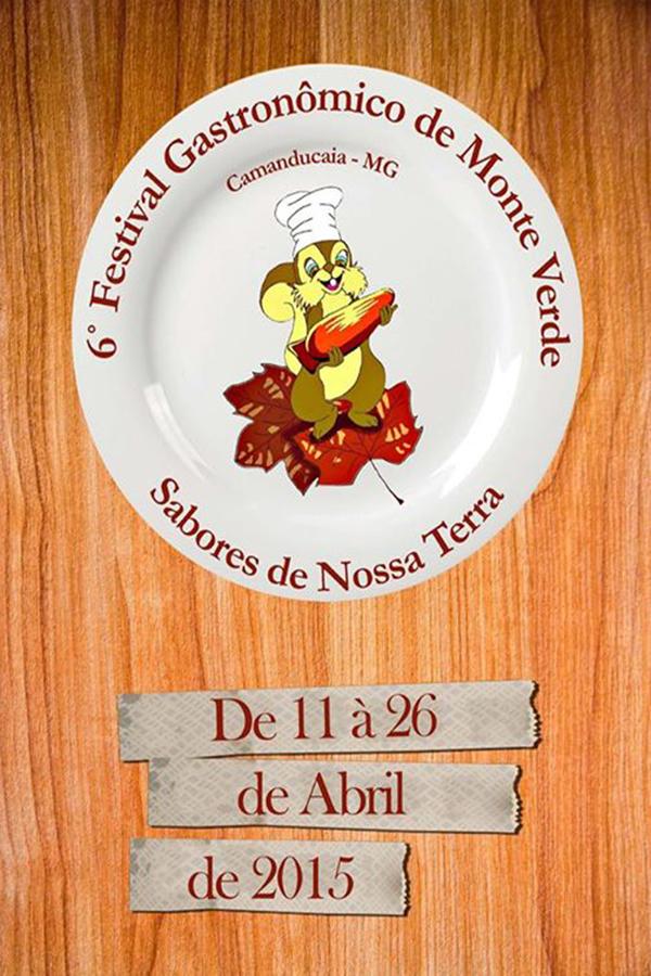 6º Festival Gastronômico de Monte Verde terá alimentos orgânicos