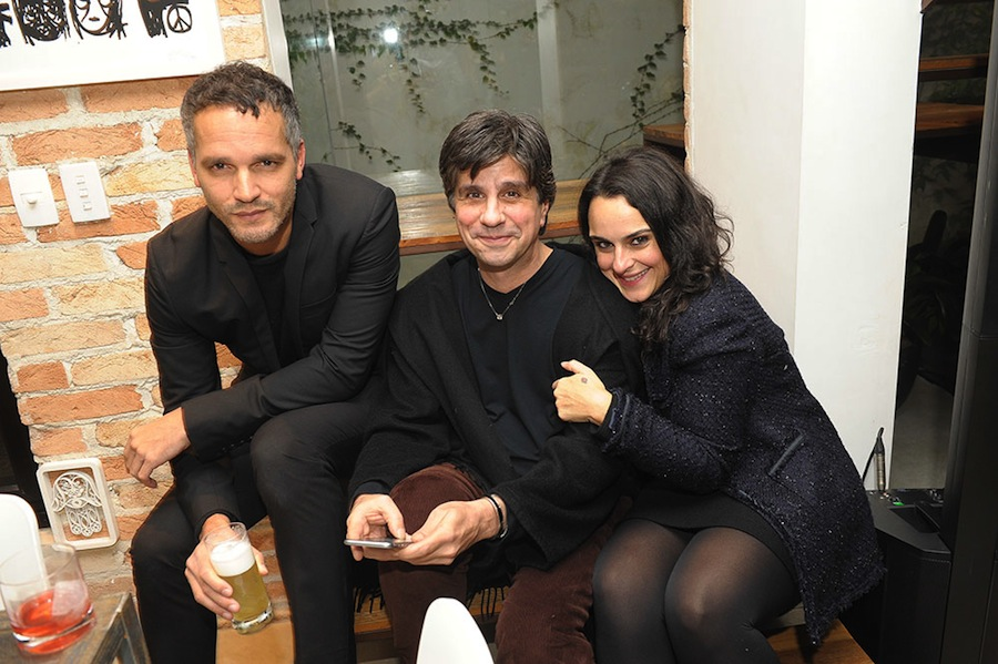 Marcelo Barbosa, Paulus Magnus e Ana Carolina Alves