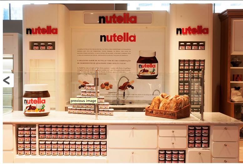 Famoso bar da Nutella promete fazer sucesso por aqui também.