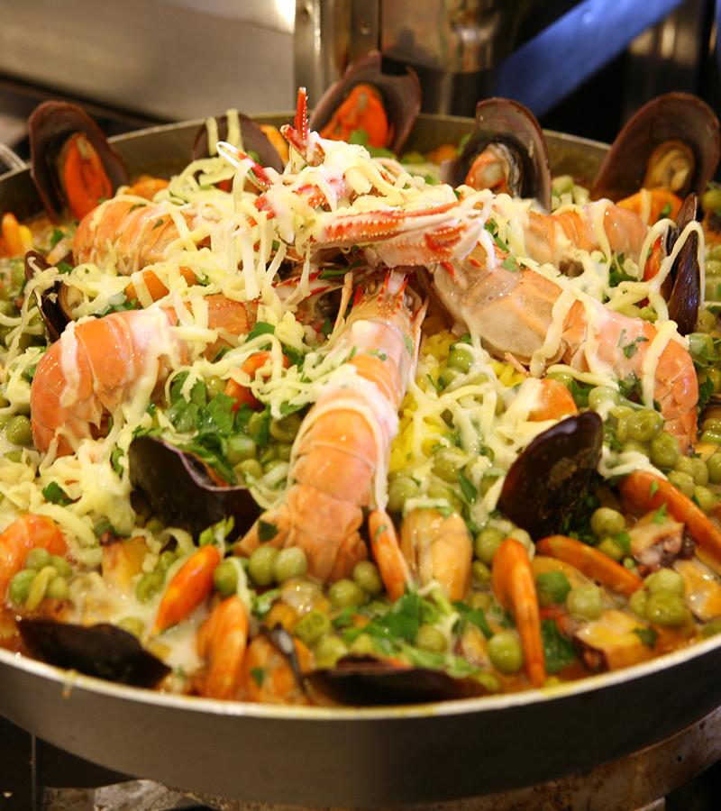 Peixes e frutos do mar nas churrascarias O Matuto em Campinas