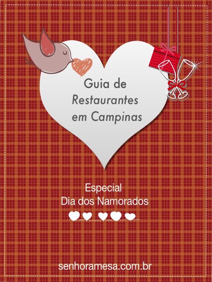 Guia de Restaurante para o Dia dos Namorados em Campinas