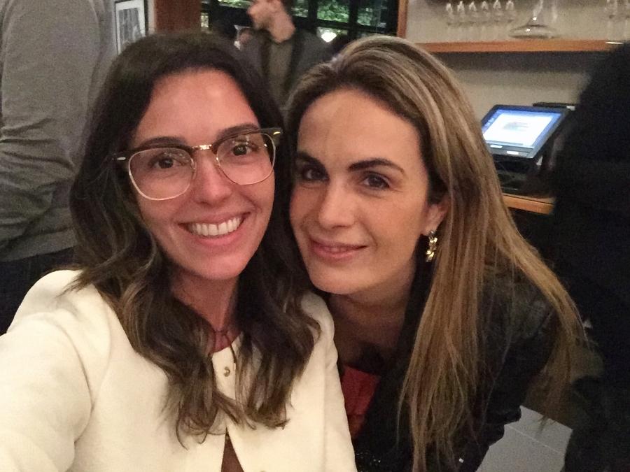 Com a fofa da Cecília Padilha, que participou da primeira edição do Masterchef e que assina o Blog Yes Cooking!