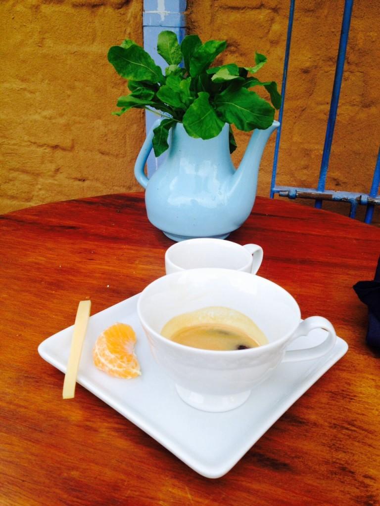 Espresso com torra desenvolvida especialmente pelo Júnior Damanda, um dos sócios da casa, idealizador do projeto e um barista apaixonado!