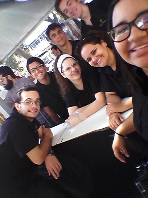 Chef Karen Bressan e Equipe na 2ª Edição do Comida na Rua Piracicaba.