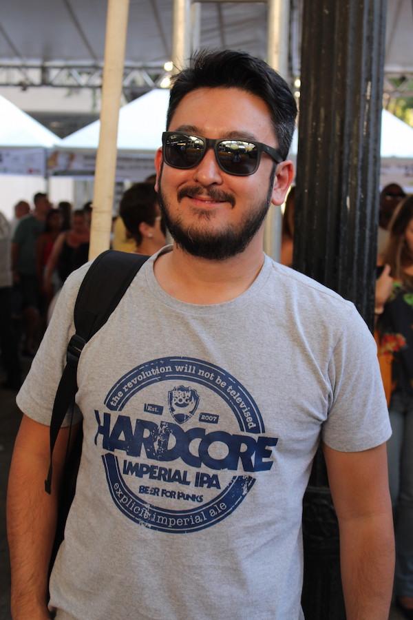 O bier colunista de cervejas que escreve no nosso Blog também, Rodrigo Ueno, veio direto de Ribeirão Preto, do IPA Day, para o Comida na Rua.