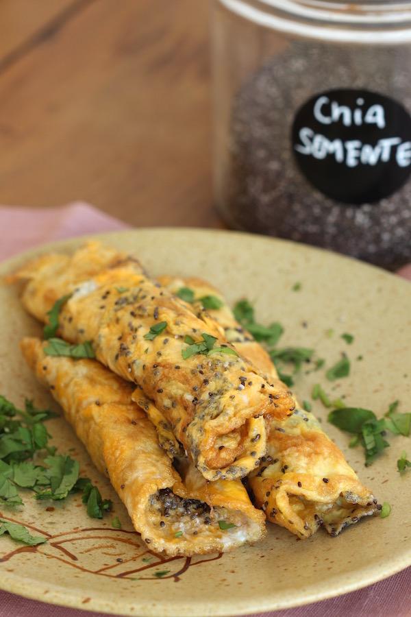 Omelete de Chia. Foto Senhora Mesa por Patrícia Guimarães. Todos os direitos reservados.