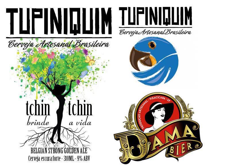 Dama Bier e cervejaria Tupiniquim lançam a Tchin Tchin nova cerveja colaborativa.