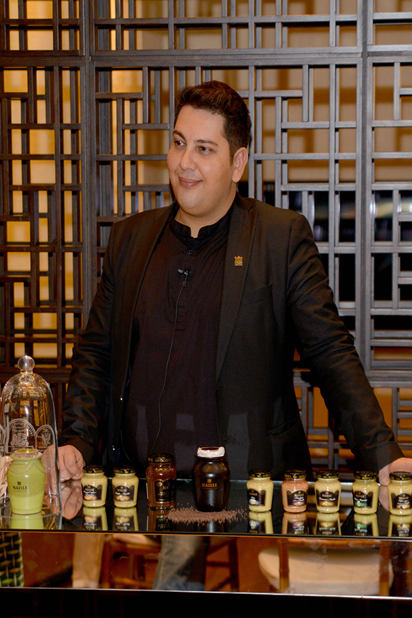 Entrevista exclusiva com Harry Lalousis, Maille Sommelier Mustard