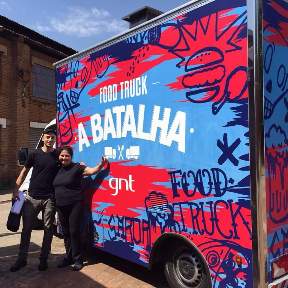 Chef Sanny Braga e Roger Bressan Disputam Food Truck: A Batalha, do Canal GNT em Piracicaba!