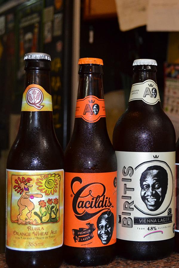 Nosso Bar em Campinas aposta em cervejas artesanais nacionais