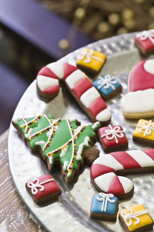 Confeitando o Natal com Biscoitos de Gengibre