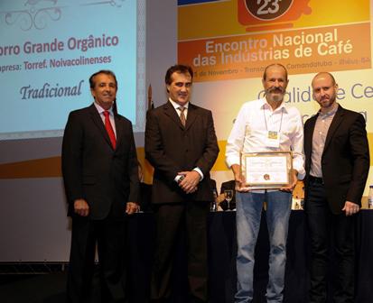 Café Orgânico do Morro Grande conquista prêmio no Encafé 2015