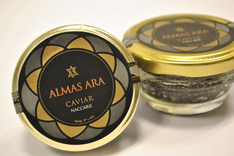 Most Expensive Caviar In The World - Almas Caviar