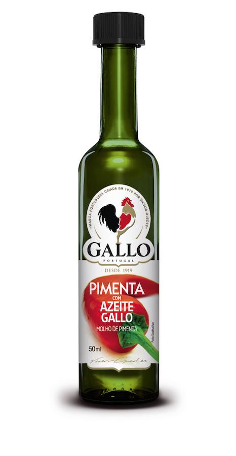 Gallo Lança Pimenta com Azeite