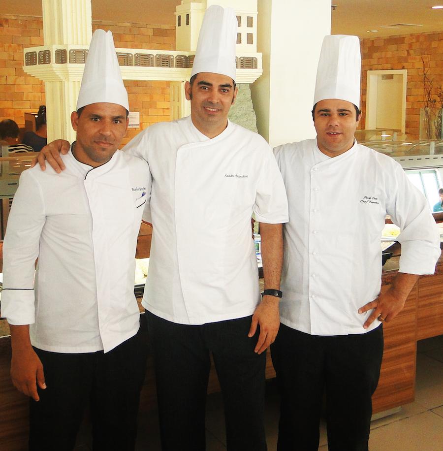 Costa do Sauípe apresenta três novos Chefs de cozinha