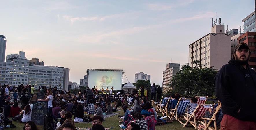 SlowMovie acontece em Jardim Suspenso em Sp no dia 7 de Maio.